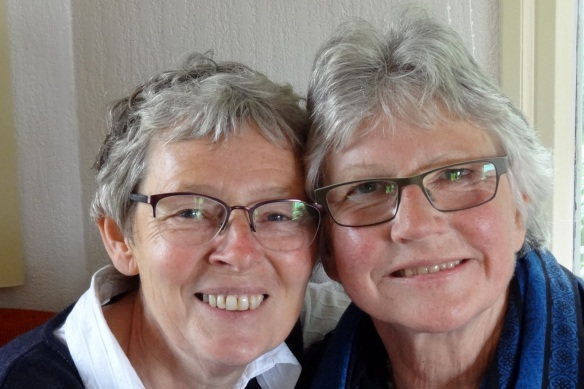 Hannie en Corrie Oudemirdum 14 mei 2016